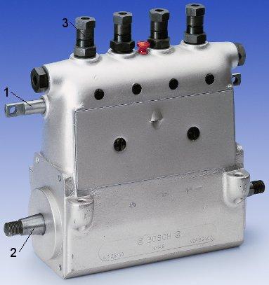 Pompă de injecţie Bosch diesel cu elemente în linie