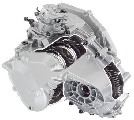 Cutie de viteze şi diferenţial General Motors cu şase trepte pentru automobile cu tracţiune faţă (motor dispus transversal)